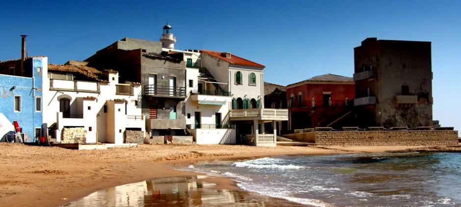 La famosa spiaggia di Montalbano