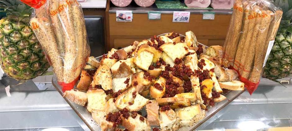 Pane tostato per bruschette